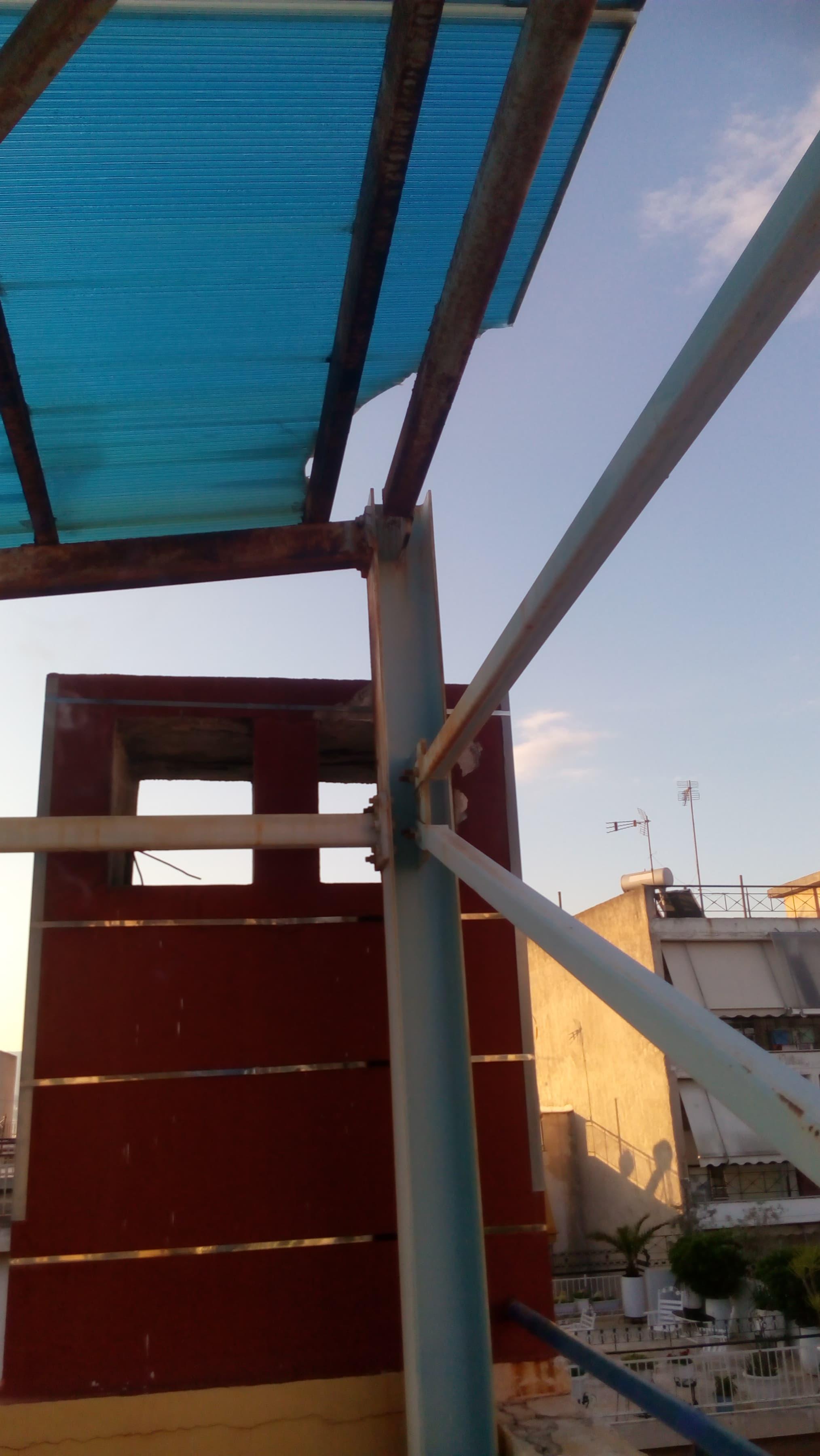 Στέγαστρο Κολυμβητηρίου